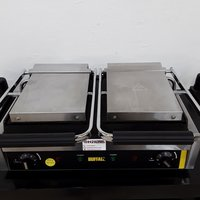 Used Buffalo GJ456 Double Contact Panini Grill	(9349)