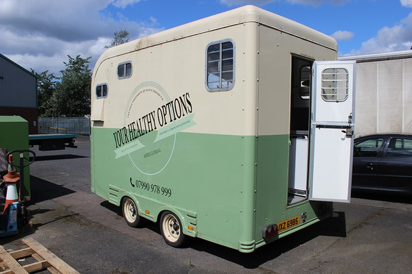 Catering Horse Box Trailer Conversion