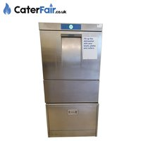 Used Hobart Dishwasher with Storage Stand (Product Code: CF1419)