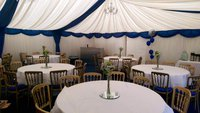 4.5m x 12m Marquee - Custom Covers –With Linings