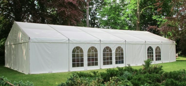 9m Framed marquee for sale