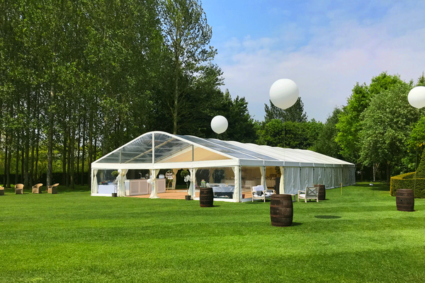 Marquee 6 to 9m centre section