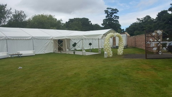9m x 27m Roder Marquee for sale