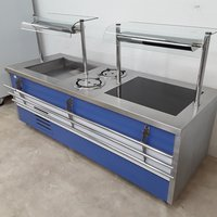 Used Heated Chilled Display Counter (9376)