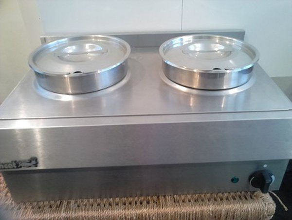 Two pot bain marie for sale