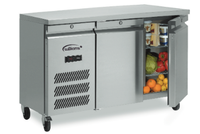 LJSC2SA ID HC R2 Williams - Jade Undercounter Double Door Freezer