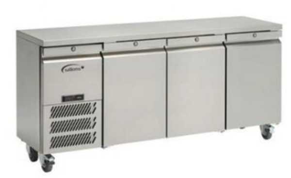 LJSC3SA HC R2	  Williams - Jade Undercounter 3 Door Freezer