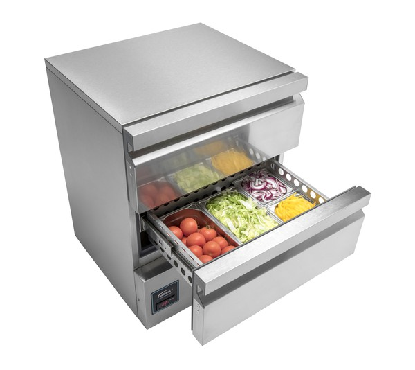 H5UC DR2 HC R2  Williams Double Drawer Fridge	2 Drawers