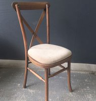 Cross Back Chairs Antique Wash