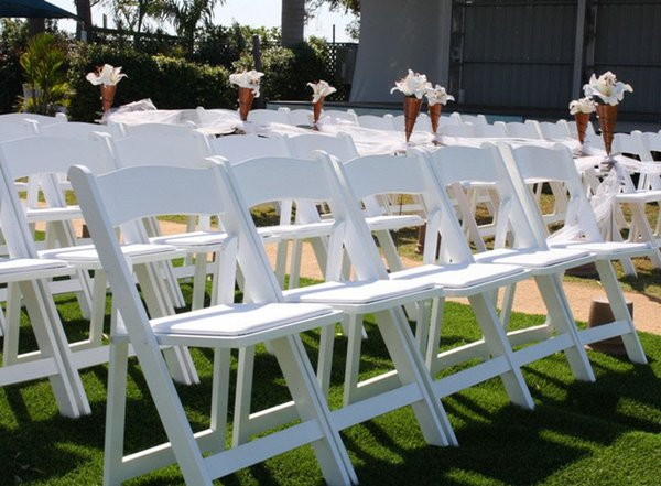 White wedding chairs for sale