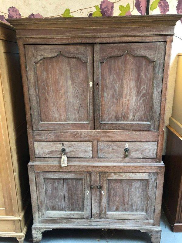 Oak Housekeepers Cupboard