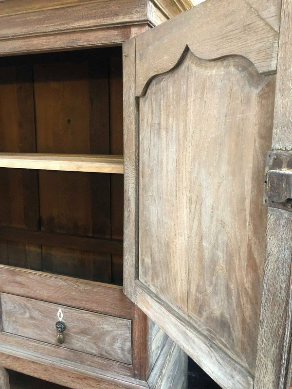 Vintage 19th Century French housekeepers cupboard