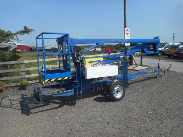 Nifty Lift 120T Trailer Mounted Access Platform for sale