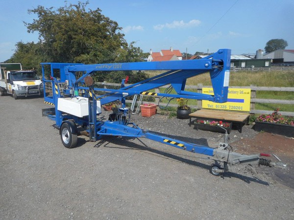 Used Nifty Lift 120T Trailer Mounted Access Platform