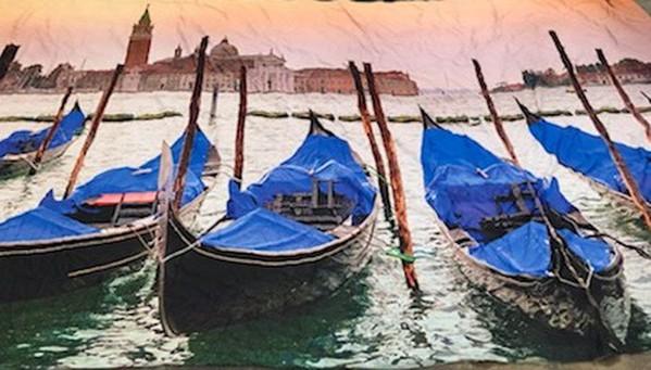 Venetian back drop