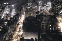 New York skyline back Drop