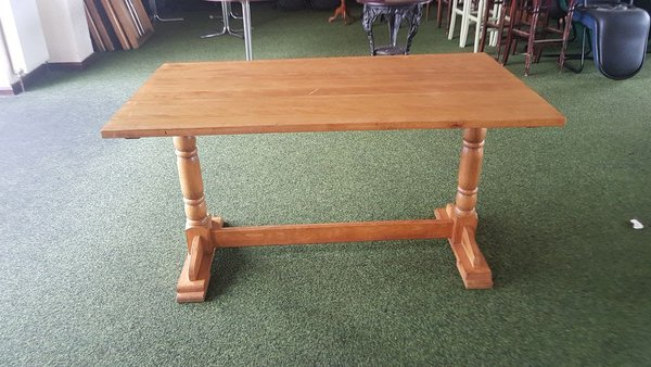 Solid wooden restaurant tables