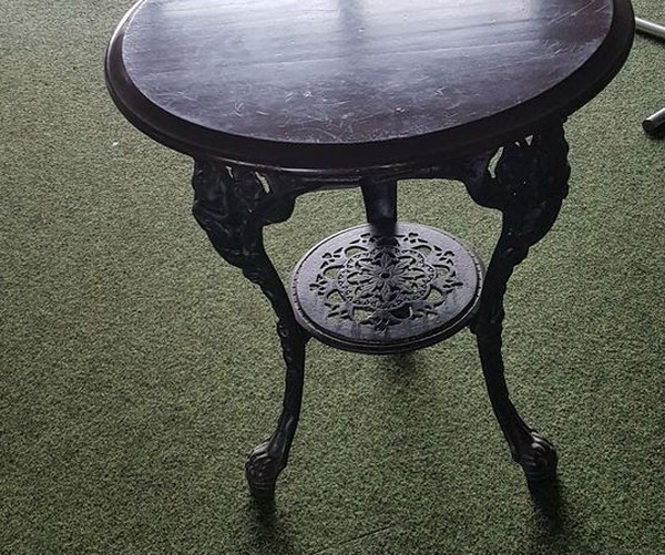 Traditional Britania Cast Iron Bar Tables