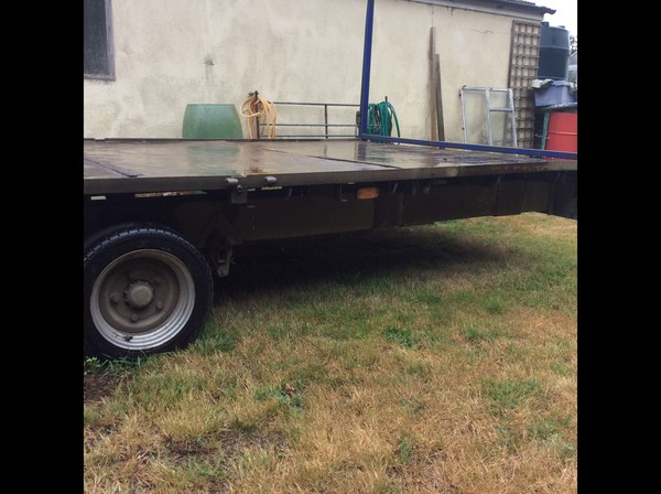 Ifor Williams Tri Axle 10 Toilet Trailer for sale