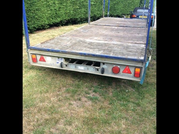 Ifor Williams Tri Axle 10 Toilet Trailer Transporter