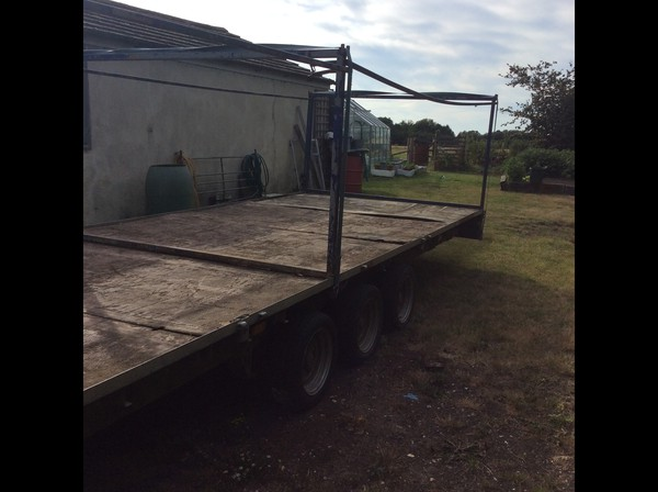Second Hand Ifor Williams Tri Axle 10 Toilet Trailer