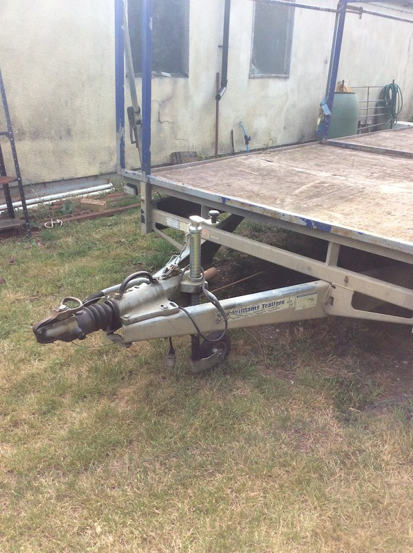 Used Ifor Williams Tri Axle 10 Toilet Trailer