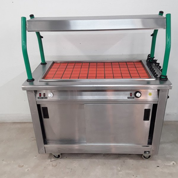 Victor JPSSG3 Hot Cupboard Bain Heated Gantry Trolley