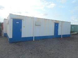 32' x 10' anti vandal 5 + 1 + shower toilet block.