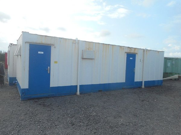 32' x 10' anti vandal 5 + 1 + shower toilet block.