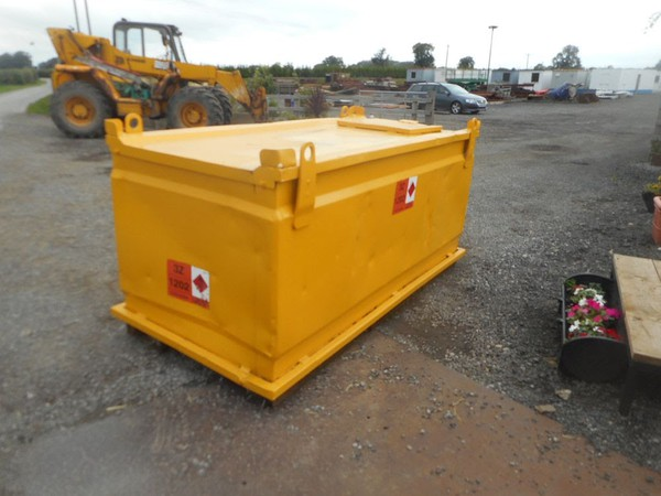 Crane liftable bunded fuel bower for sale