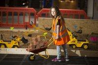 Kids Construction Site Set Hire