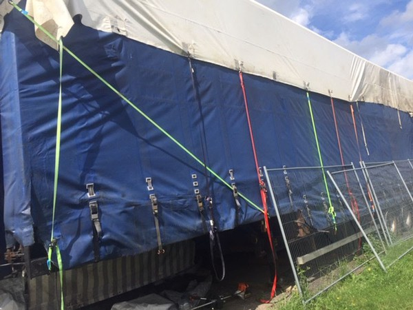 40 foot high rise trailer