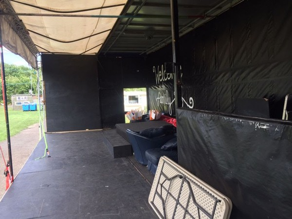 40ft x 16ft stage for sale