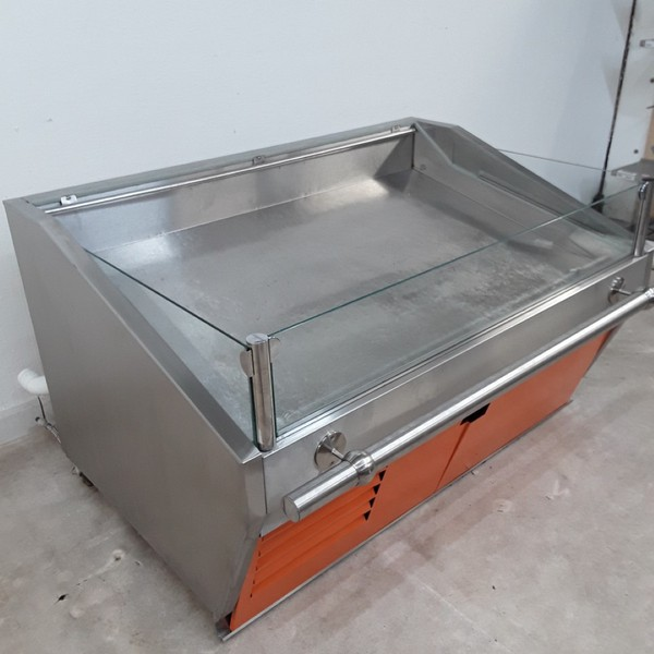 Fish display fridge for sale