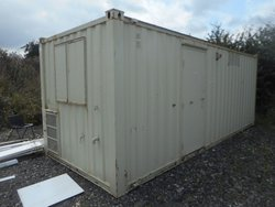 Anti Vandal Office Portable Building Site Welfare