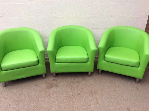 3x Tub Chairs (CODE TUB 287)