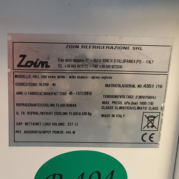 Sellinf Used Zoin Hill 200 Slimline Serve Over Counter