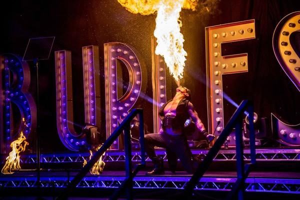 Burlesque Light up letters