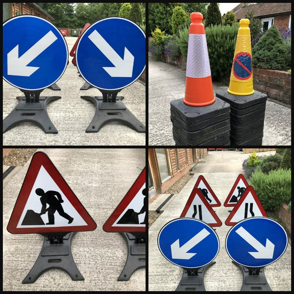 Road work signs for sale