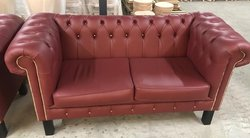 Oxblood Chesterfield Sofa