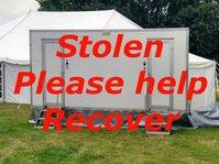 Stolen Toilet trailer