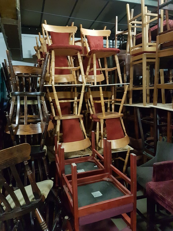 Dining Chair Stack