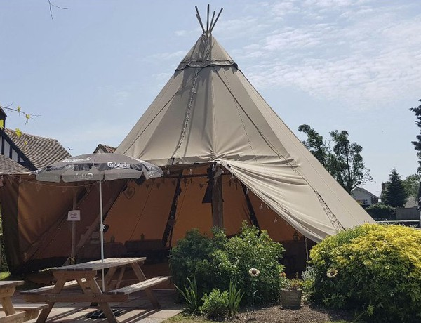 buy online ce49b e195c Curlew - SecondHand Marquees | Tipi and Wigwams