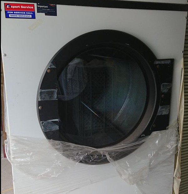 Front Gas Dryer