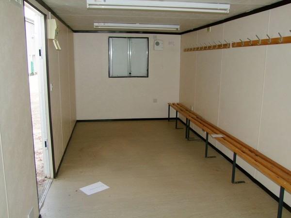 Inside Portable Cabin