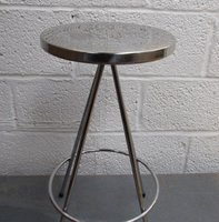 Retro Chrome Bar Stools