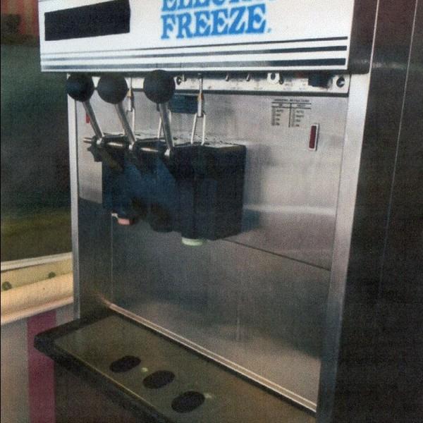 Ice Cream Machine Angle