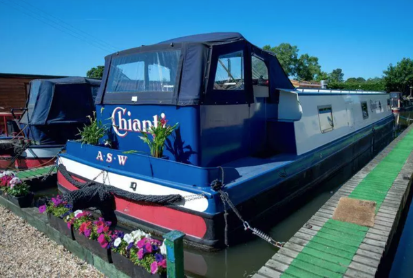 Ormskirk house boat for sale