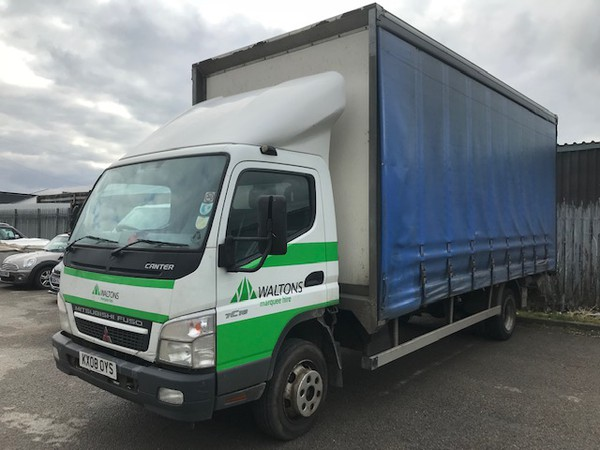 Mitsubishi Fuso Canter curtain side