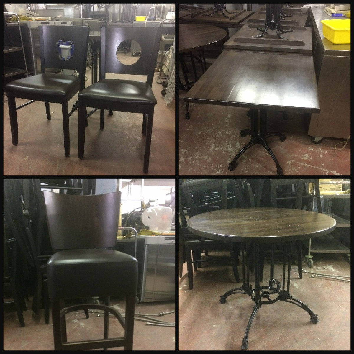 28x Chairs And 15x Tables Restaurant Clearance London